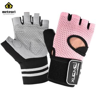 Half-finger Gloves Weight Lifting Fitness Breathable Non-slip Wrist Protection Half Finger Exercise Gloves