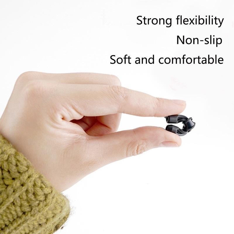 [ Rẻ Nhất ] Cài tai chống rơi kính hiệu quả 100% - Kẹp tai Silicon siêu mềm. Phù hợp...