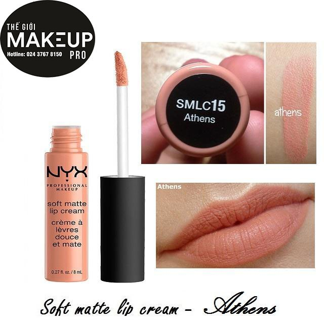 Son kem NYX Soft Matte Lip Cream Athens SMLC15 - 3478023 , 669566456 , 322_669566456 , 230000 , Son-kem-NYX-Soft-Matte-Lip-Cream-Athens-SMLC15-322_669566456 , shopee.vn , Son kem NYX Soft Matte Lip Cream Athens SMLC15
