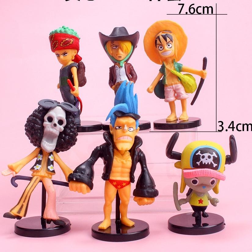 Mô Hình Chibi các nhân vật team Mũ Rơm – One Piece