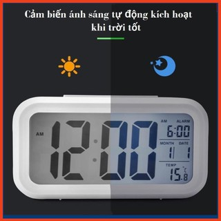 đồng hồ led để bàn,Đồng Hồ LCD Led Để Bàn HD51 - HL1010  - Bảo hành uy tín 1 đổi 1