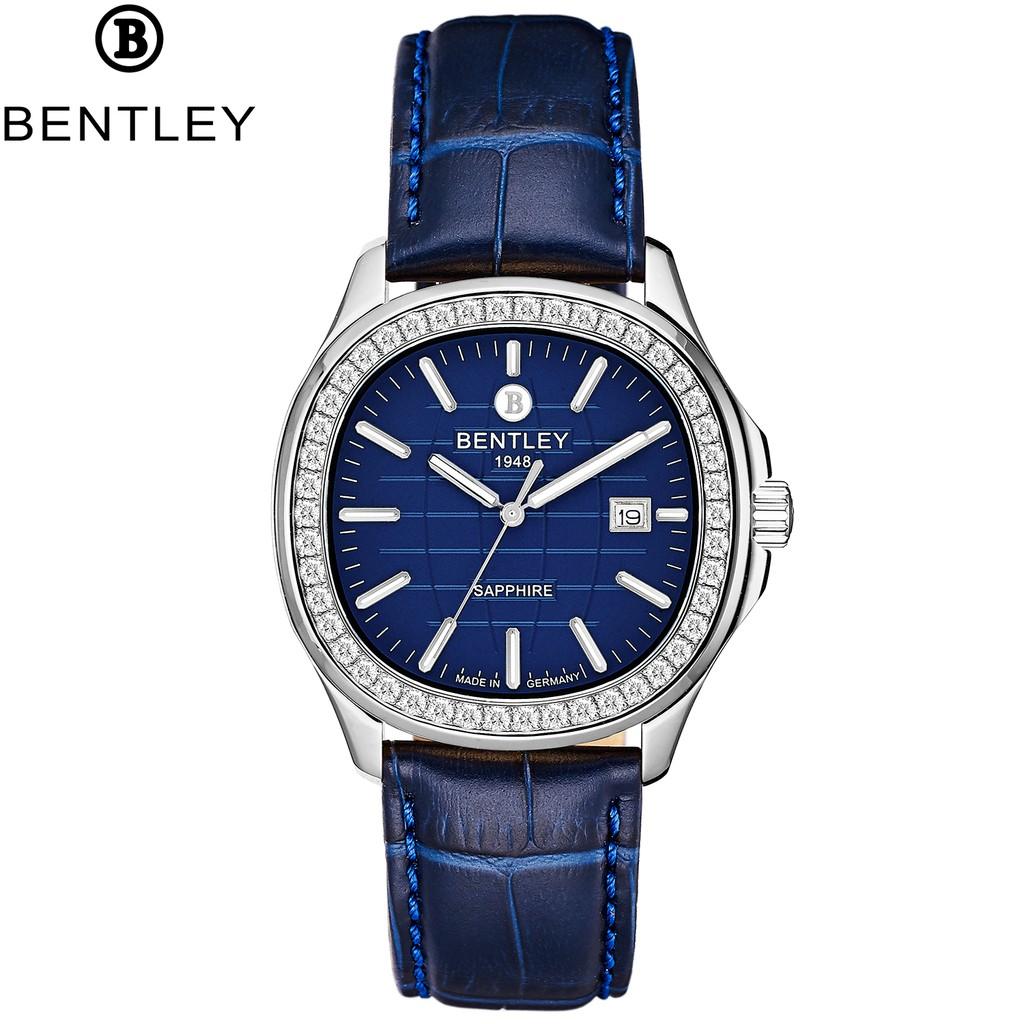 Đồng hồ nam dây da mặt kính chống xước Bentley BL1869 BL1869-101 BL1869-101MWNN