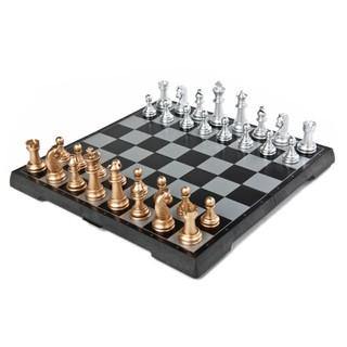 Bộ cờ vua nam châm 2 trong 1 Chess & Checker