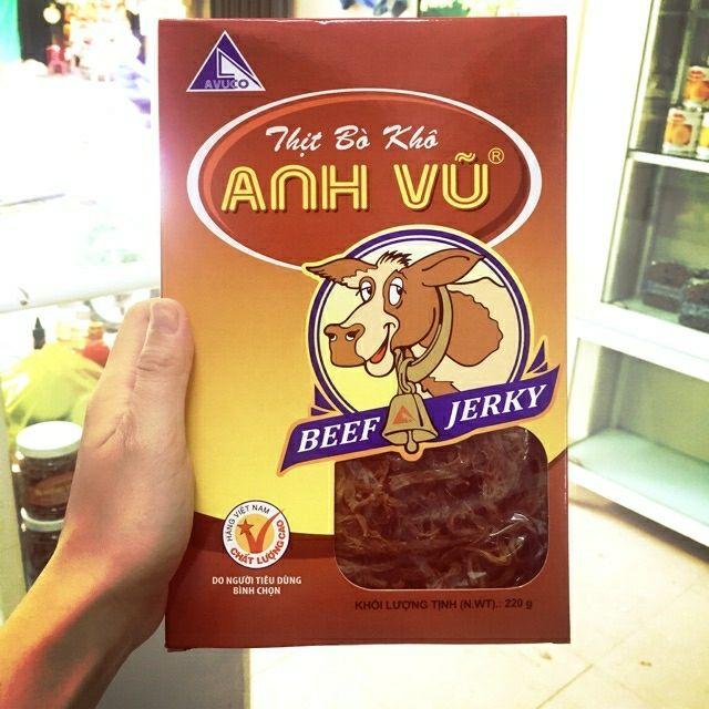 Bò khô Anh Vũ Quảng Ngãi ( loại 220g và 440g )   Shopee Việt Nam