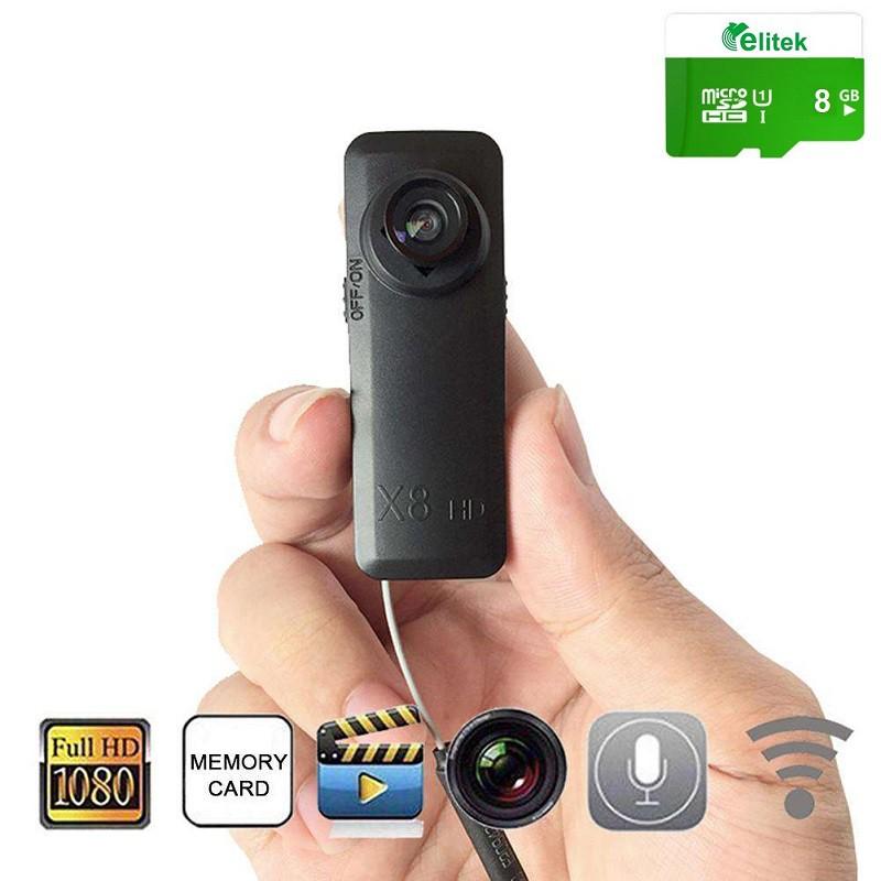 Camera Mini IP Giám Sát X8 + Kèm Thẻ Nhớ 8GB - 2658263 , 816386276 , 322_816386276 , 799000 , Camera-Mini-IP-Giam-Sat-X8-Kem-The-Nho-8GB-322_816386276 , shopee.vn , Camera Mini IP Giám Sát X8 + Kèm Thẻ Nhớ 8GB