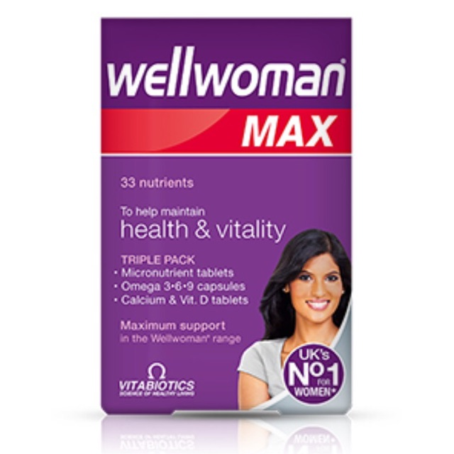 Wellwoman Max vitamin
