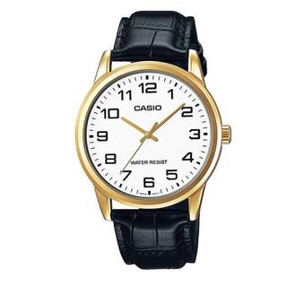 [Mã FARSBR153 giảm 15% đơn 150K] Đồng hồ nam dây da Casio MTP-V001GL-7BUDF chính hãng