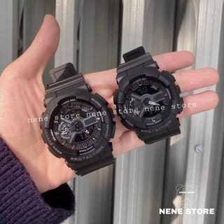 Đồng hồ thể thao nữ GA69 cá tính full đen