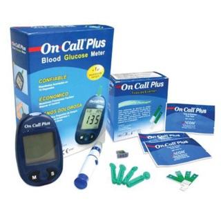 Máy đo đường huyết oncall plus tặng 25 que + 10 thumbnail