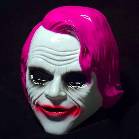Mặt Nạ Joker Joaquin Phoenix MÀU XANH DƯƠNG hóa trang halloween