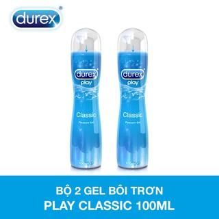 """Bộ hai chai gel bôi trơn Durex Play Classic (100ml/chai) giá chỉ còn <strong class=""""price"""">27.900.000.000đ</strong>"""