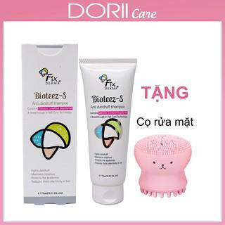 Dầu gội Fixderma Bioteez-S Shampoo (75g) TẶNG CỌ RỬA MẶT