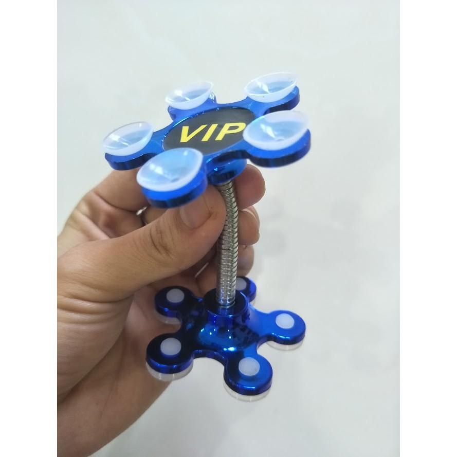 Giá đỡ điện thoại thông minh hình hoa 5 cánh hút chân không 6màu cơ bản