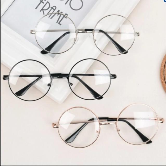 แว่นกรองแสง แว่นตากรองแสง ทรงกลม