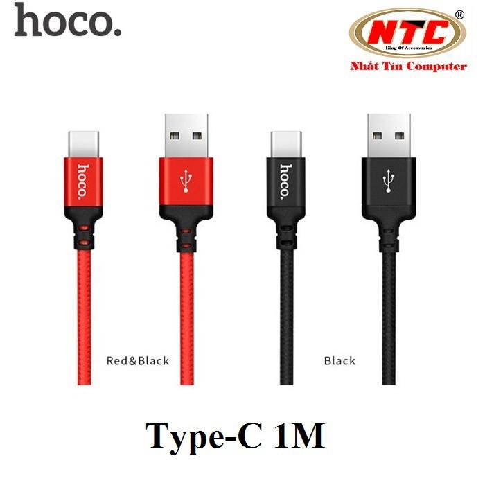 Cáp sạc dây dù Hoco X14 dài 1M cổng Type-C (Hỗ trợ sạc nhanh) - Hãng phân phối chính thức - 2551728 , 882287179 , 322_882287179 , 53000 , Cap-sac-day-du-Hoco-X14-dai-1M-cong-Type-C-Ho-tro-sac-nhanh-Hang-phan-phoi-chinh-thuc-322_882287179 , shopee.vn , Cáp sạc dây dù Hoco X14 dài 1M cổng Type-C (Hỗ trợ sạc nhanh) - Hãng phân phối chính thức