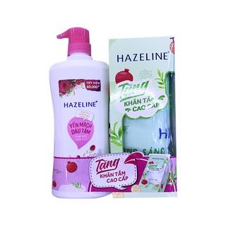Sữa tắm Hazeline yến mạch và dâu tằm 670g - Tặng Bộ Khăn Tắm Cao Cấp thumbnail