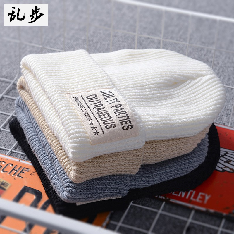 Young Korean style hooded hats for both men and women