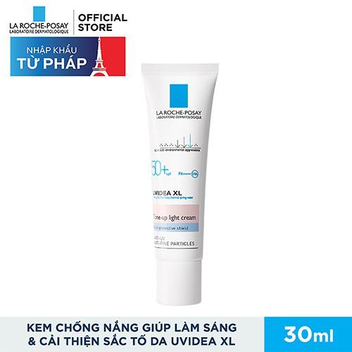 Kem chống nắng làm sáng & cải thiện sắc tố da La Roche-Posay Uvidea XL Tone-up Light Cream SPF50+ UV