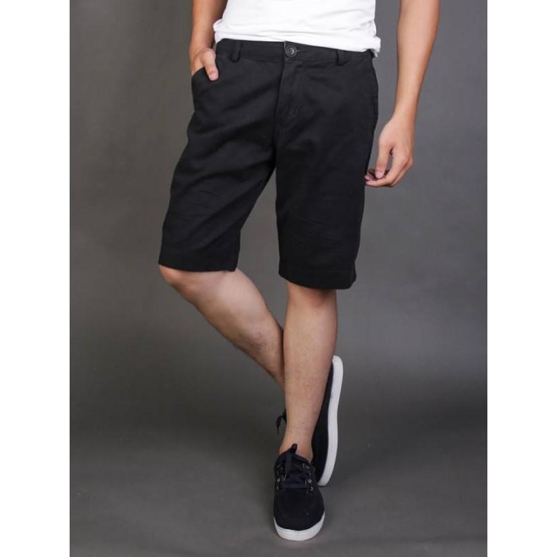 Quần shorts kaki nam thời trang , thanh lịch , cá tính cao cấp- Đen