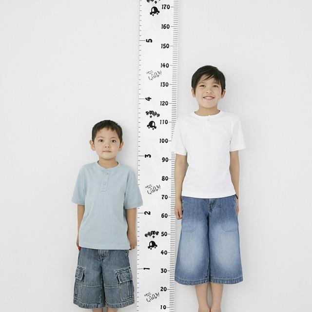 Thước đo theo dõi chiều cao cho trẻ em treo tường hết sức tiện lợi
