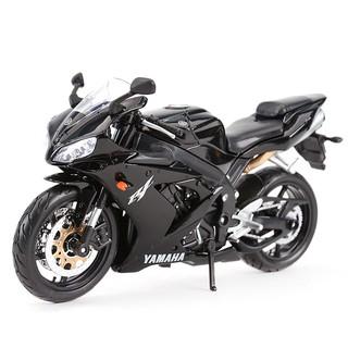 Mô Hình Xe Mô Tô Yamaha R1 1199 Bằng Hợp Kim Tỉ Lệ 1: 12