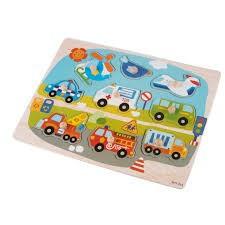 [SALE SẬP SÀN] Bảng học các phương tiện giao thông mẫu 2 cho bé Vivitoys 085   HÀNG MỚI