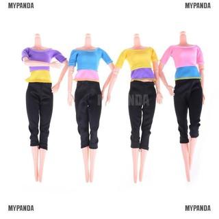 Set quần áo tập yoga thời trang cho búp bê Barbie Shop boy&men