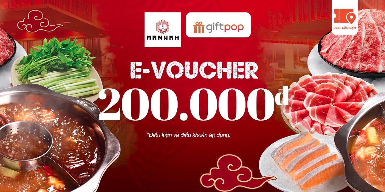 E-Voucher MANWAH 200.000
