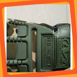 (Hàng Cao Cấp) Găng tay nữa ngón Mechanix quân đội –6761 (Hàng Bao Đẹp)