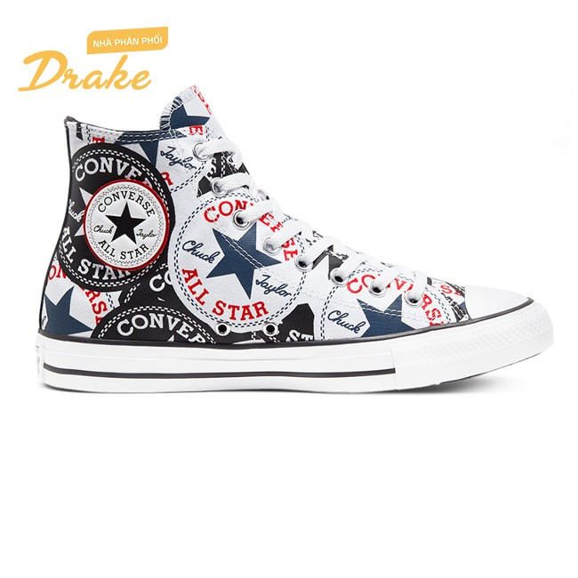 Giày sneakers Converse Chuck Taylor All Star Twisted Classic Logo Play 166985V