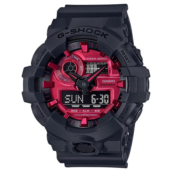 Đồng hồ Nam Dây Nhựa Casio G-Shock GA-700AR-1A chính hãng bảo hành 5 năm Pin trọn đời