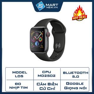 Đồng hồ thông minh SMART WATCH LD5 - Tiếng Việt - Cảm biến cử chỉ - Voice giọng nói - Theo dõi sức khỏe