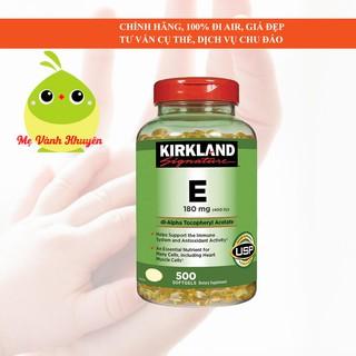 Vitamin E thiên nhiên Kirkland Signature 400 I.U, Mỹ (500v) thumbnail