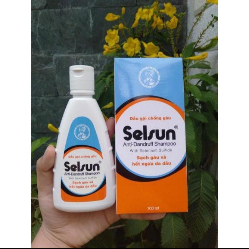 Dầu gội chống gàu và ngứa da đầu Selsun anti – dandruff shampoo100ml hàng chính hãng Selsun
