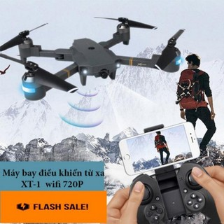 Flycam XT-1 Máy Bay Điều Khiển Từ Xa Kết Nối Wifi Quay Phim Chụp Ảnh Full HD 720P Bảo Hành 1 Đổi 1 thumbnail