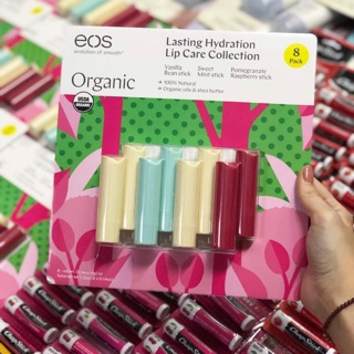 Son dưỡng EOS Organic không màu - cấp nước dưỡng ẩm thumbnail