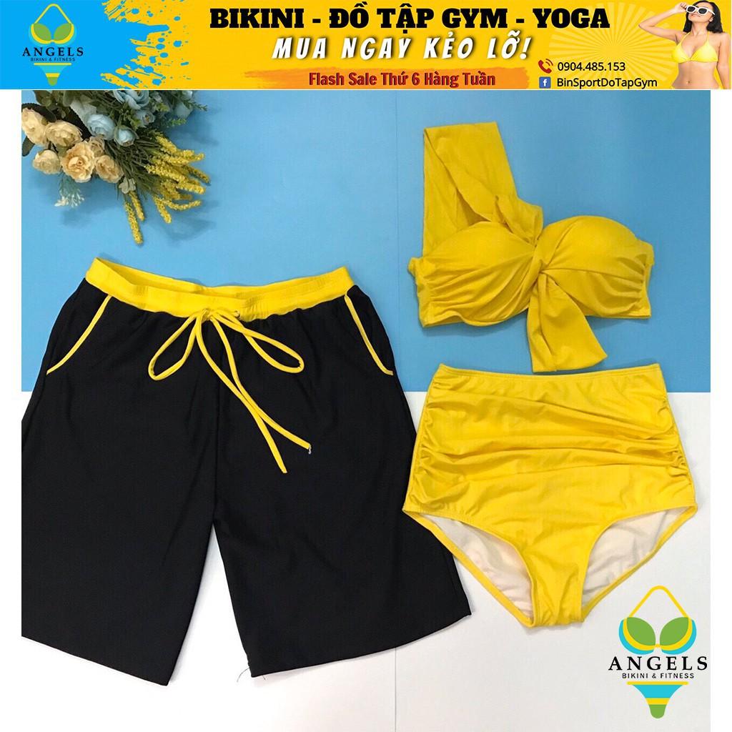 Bikini ,Bộ Đồ Bơi Hai Mảnh 1 Vai, Mẫu Mới Siêu Hot  BHV026 [ Giá Sỉ ]