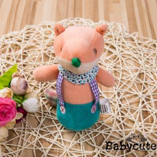 ✪B-BHOT Soft Sound Animal Handbells plush Squeeze Rattle For Newborn Baby Toys Gift