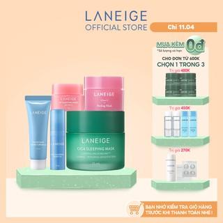 Combo dưỡng ẩm và làm đẹp cho da LANEIGE CICA Sleeping Mask & Water Bank thumbnail