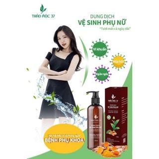 ( CHÍNH HÃNG ) Dung dịch vệ sinh thảo mộc 37, khử mùi , chống viêm, se khít 5