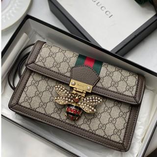 Túi da xách tay có quai đeo, viền túi nâu đẹp sắc nét - TL30 thumbnail