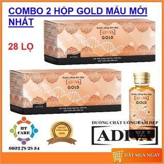 ✅ COMBO 2 HỘP ADIVA GOLD THẾ HỆ MỚI – (14 lọ/ hộp)