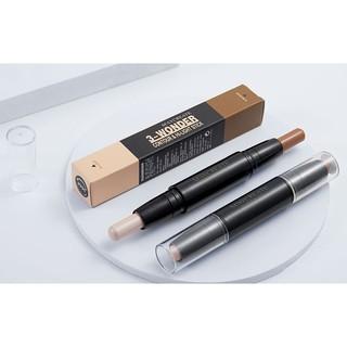Bút bắt sáng + tạo khối – 2 đầu – highlight – nhấn sáng – tạo khối