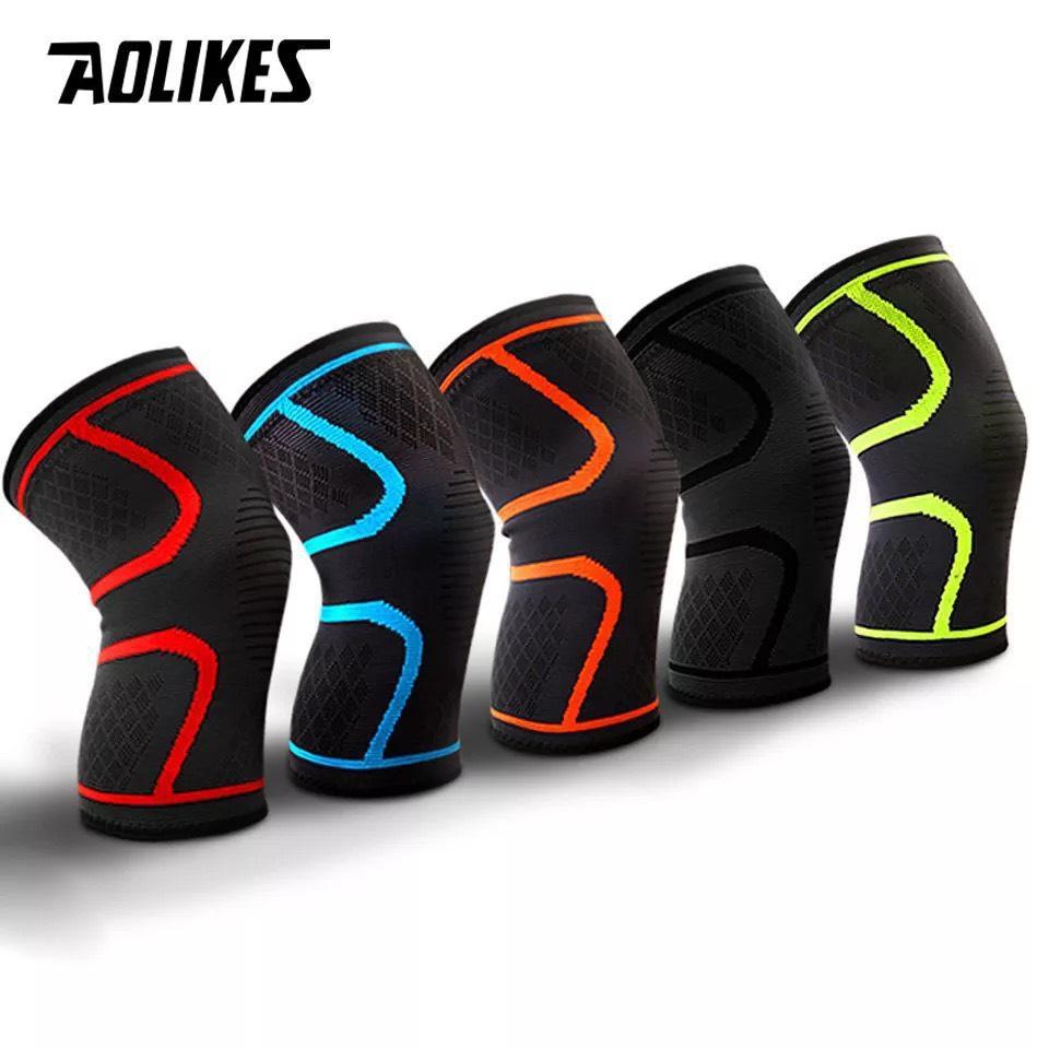 Bó gối đàn hồi bảo vệ khớp Aolikes AL7718
