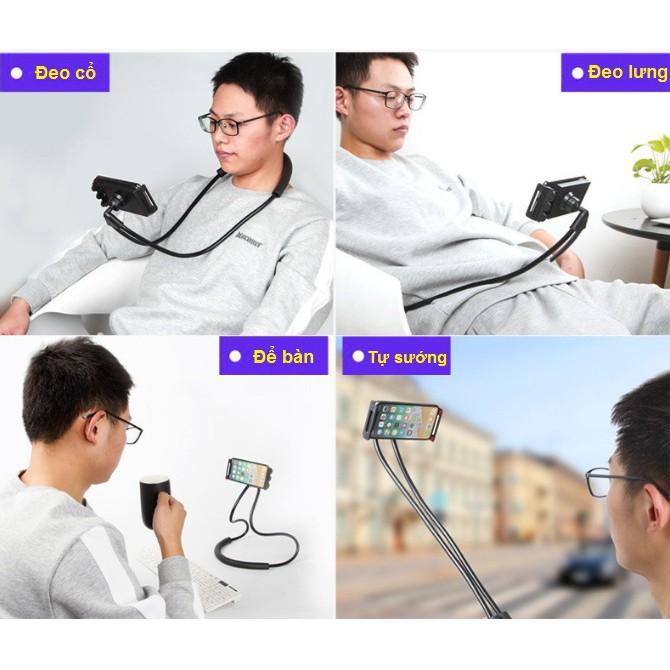 Kẹp vòng cổ điện thoại và máy tính bảng