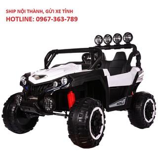 Ô tô xe điện siêu địa hình NEL 903 đồ chơi vận động cho bé 2 ghế 4 động cơ