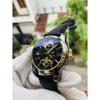 (Siêu Sale) Đồng hồ nam cơ tevise chính hãng t805d cao cấp dây da (tặng kèm hộp đồng hồ) thumbnail