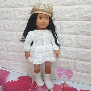Búp bê Mỹ NEW OUR GENERATION 18″- Talita Doll with Winter Theme Outfit (BAO BÌ CÓ THỂ MÓP MÉO XÍU DO VẬN CHUYỂN)