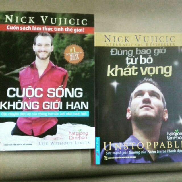 sách- Combo sách Đừng bao giờ từ bỏ khát vọng, cuộc sống không giới hạn - 3491569 , 924630511 , 322_924630511 , 140000 , sach-Combo-sach-Dung-bao-gio-tu-bo-khat-vong-cuoc-song-khong-gioi-han-322_924630511 , shopee.vn , sách- Combo sách Đừng bao giờ từ bỏ khát vọng, cuộc sống không giới hạn