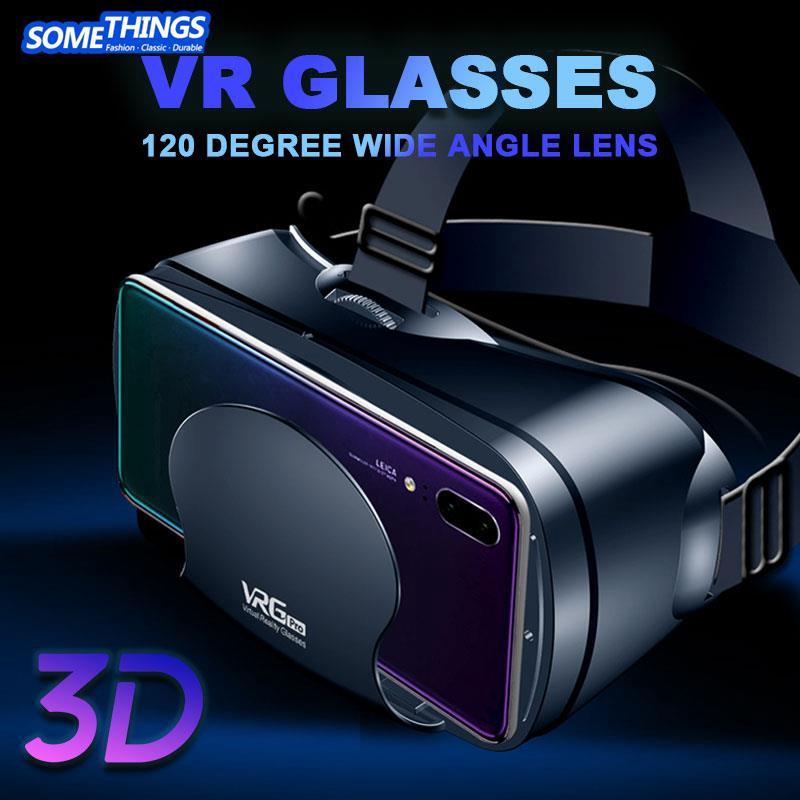 3D Games Aspheric Lens Portable VR Headset Glasses 3D VR Glasses